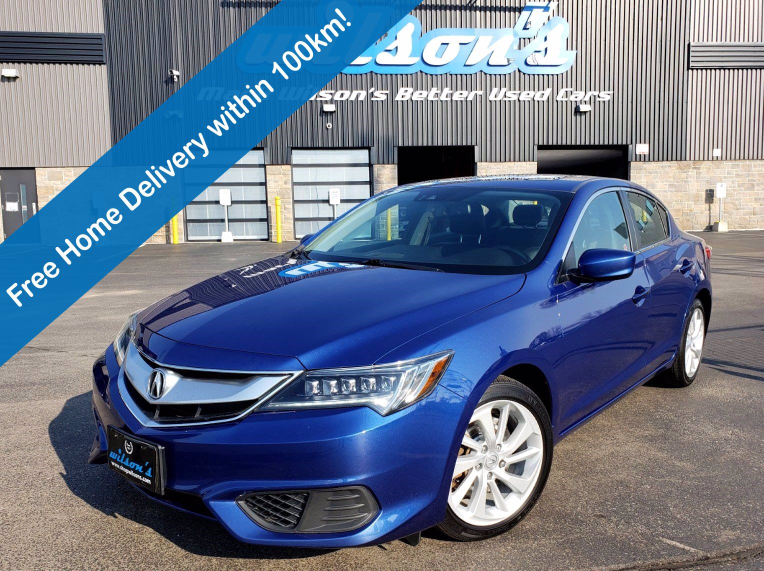 Certified Pre-Owned 2017 Acura ILX Technology Pkg, Navigation, Leather, Sunroof, Heated Seats, Bluetooth, Rear Camera, Alloys and more!