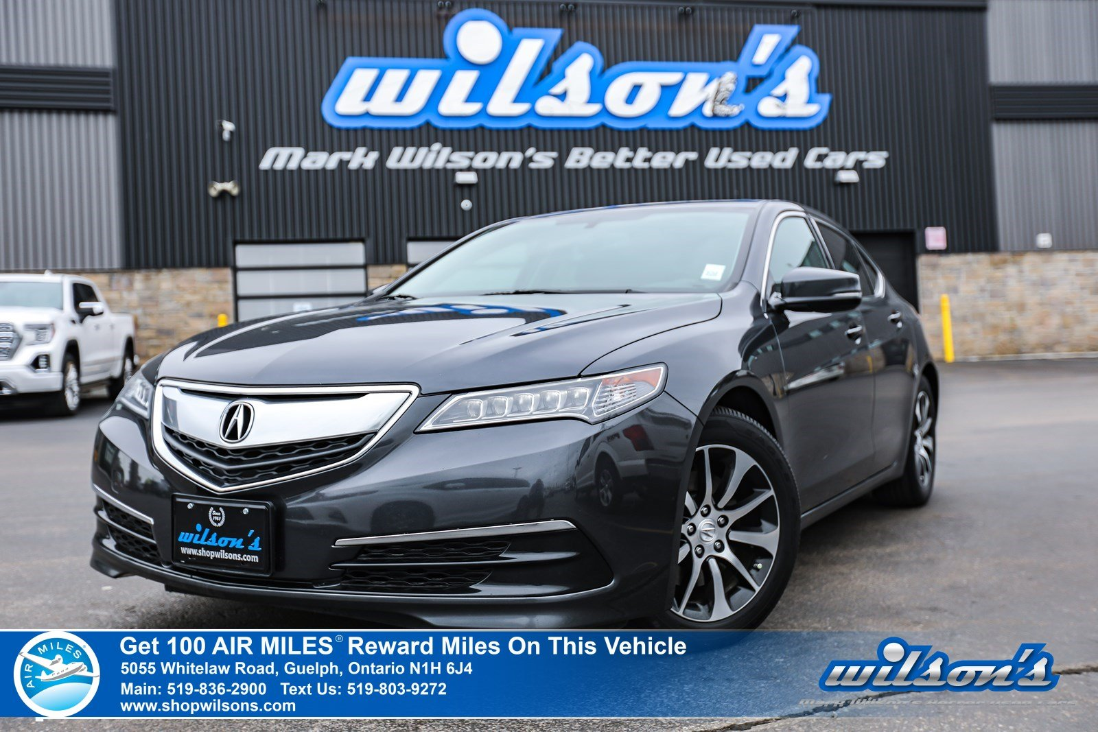 Certified Pre-Owned 2015 Acura TLX - Leather, Sunroof, Rear Camera, Bluetooth, Heated Seats, Alloy Wheels and more!