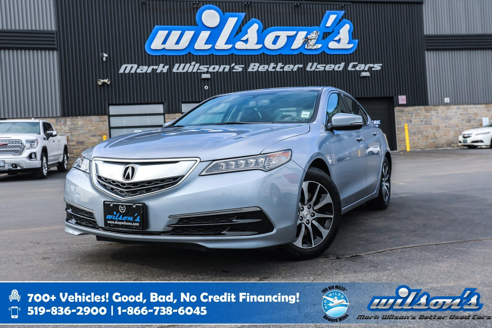 Certified Pre-Owned 2015 Acura TLX Leather, Sunroof, Rear Camera, Bluetooth, Heated + Power + Memory Seats, Alloy Wheels and more!