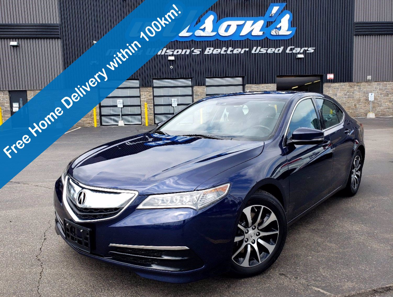 Certified Pre-Owned 2017 Acura TLX Tech, Leather, Sunroof, Navigation, Heated Seats, Rear Camera, Bluetooth, Alloys & More!
