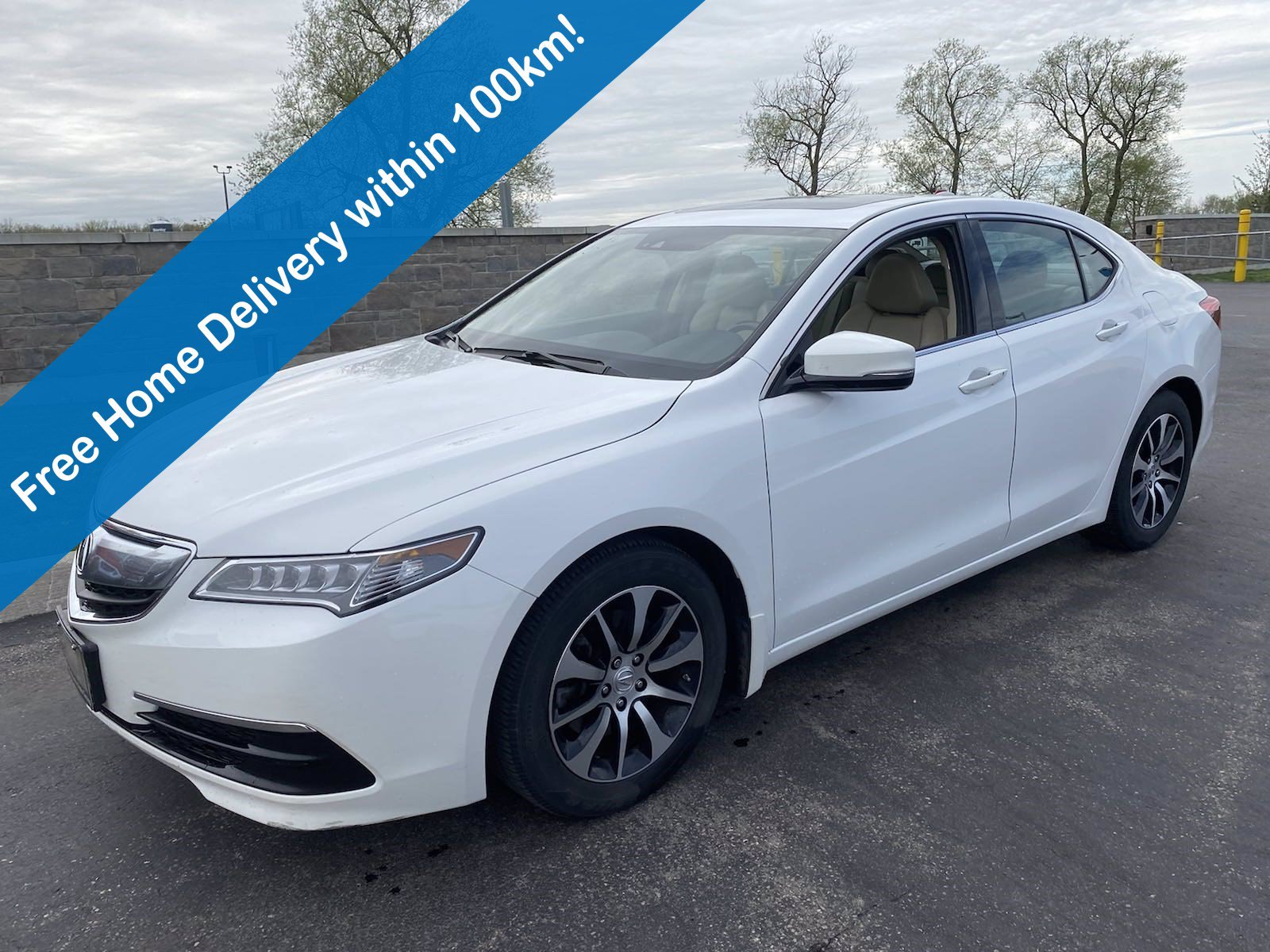 Certified Pre-Owned 2016 Acura TLX Tech Pkg, Navigation, Leather, Sunroof, Heated Seats, Memory Seats & More!