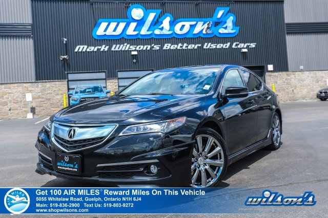 Certified Pre-Owned 2015 Acura TLX V6 Elite - Launch Kit, Navigation, Sunroof, Leather, Rear Camera, AcuraWatch Safety System and more