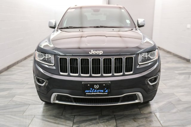 Certified Pre Owned 2016 Jeep Grand Cherokee LIMITED 4X4 | LEATHER |  SUNROOF | HEATED