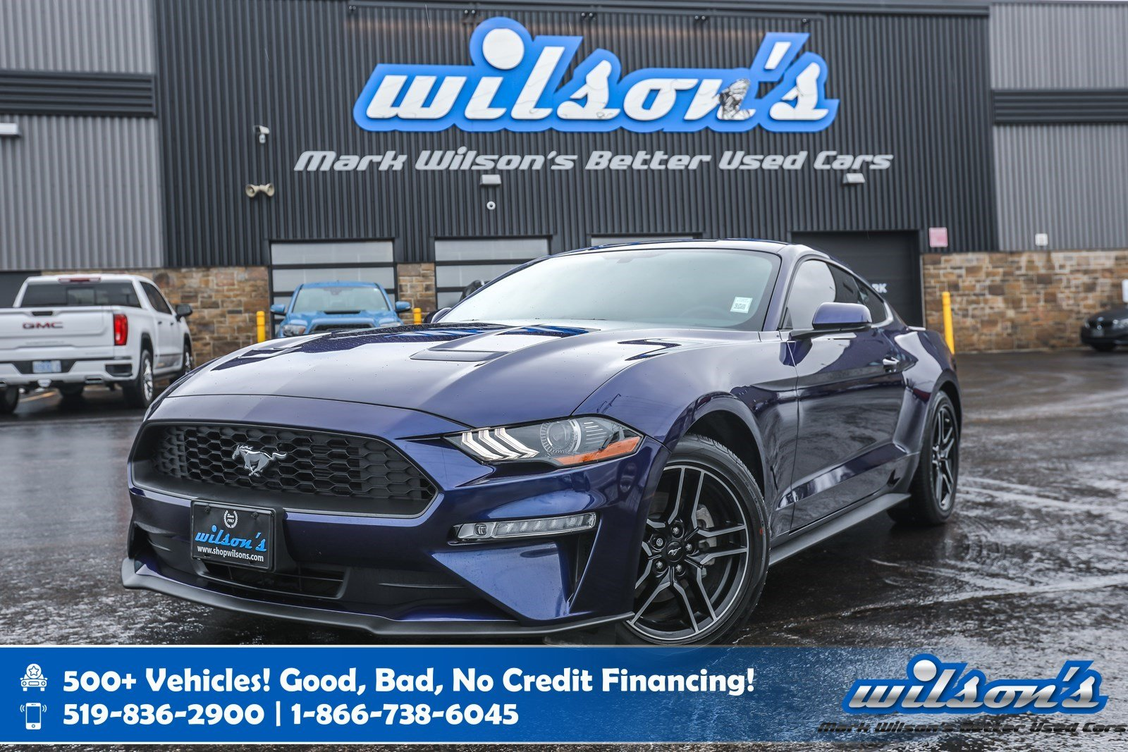 Certified Pre-Owned 2019 Ford Mustang EcoBoost Premium Used, 1000 KM! Leather, Rear Camera, Heated + A/C Seats, Bluetooth and more!