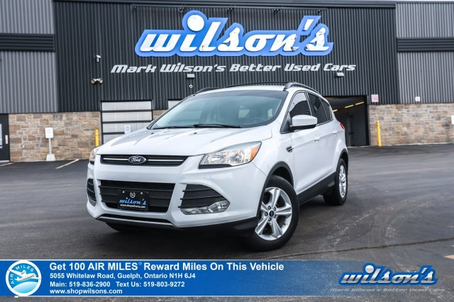 Certified Pre-Owned 2015 Ford Escape SE - Leather, Navigation, Rear Camera, Bluetooth, Park Assist, Alloys and more!