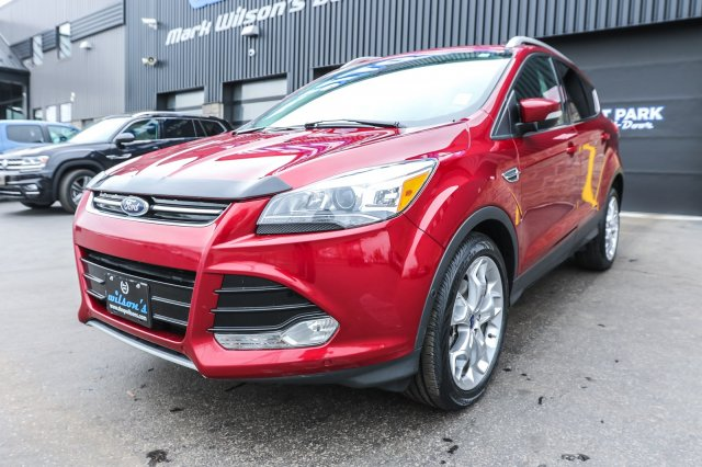 Ford Escape Sunroof >> Certified Pre Owned 2016 Ford Escape Titanium Leather Navigation