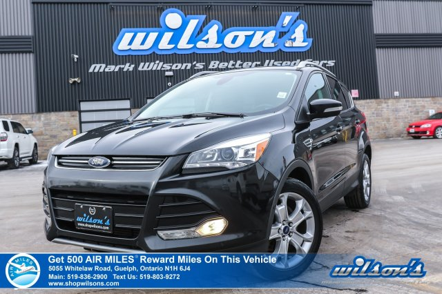 Certified Pre-Owned 2014 Ford Escape Titanium - Rear Camera, Bluetooth, Leather, Blind Spot Monitor and MUCH MORE