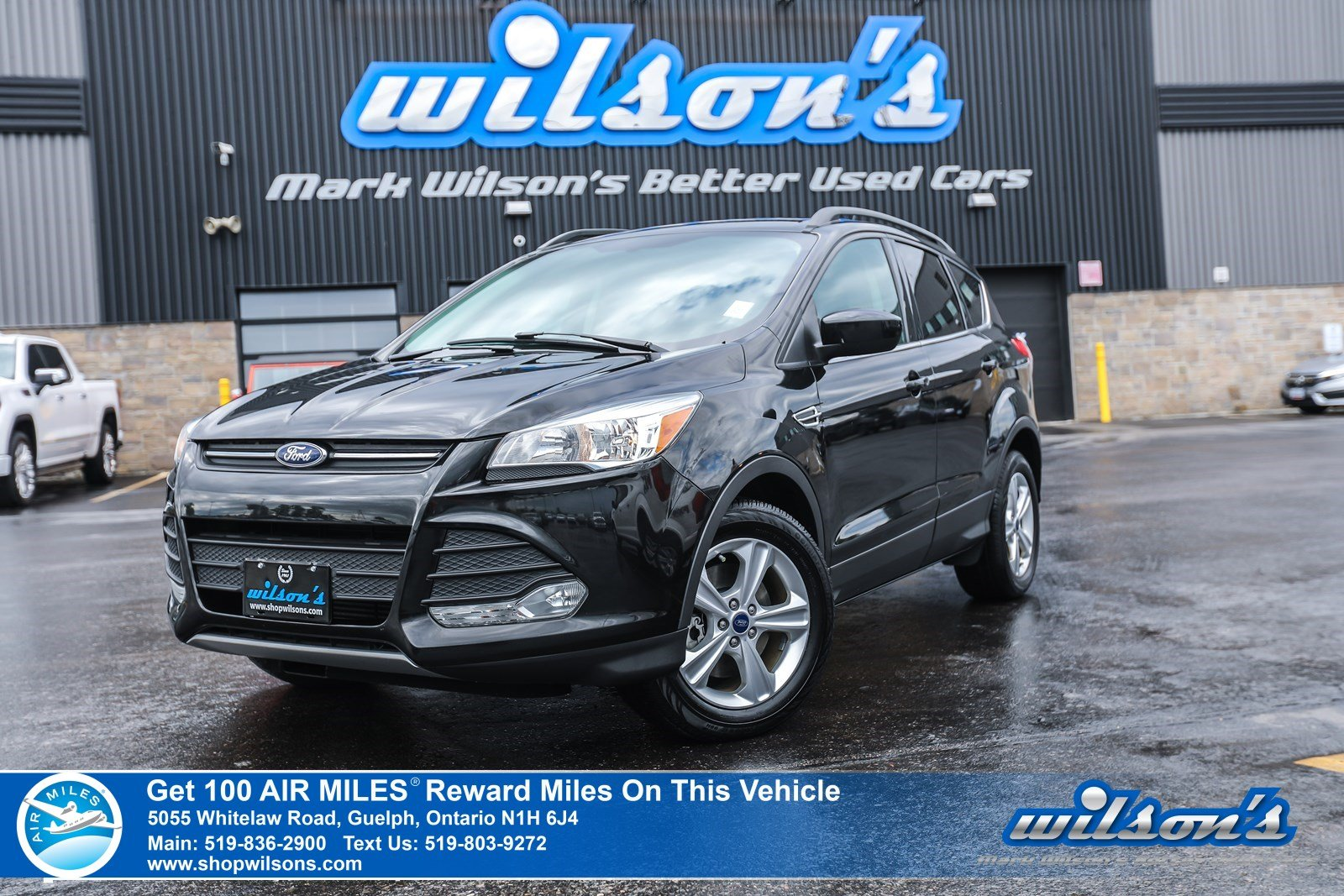 Certified Pre-Owned 2015 Ford Escape SE - 4X4, Leather, Navigation, Power + Heated Seats, Bluetooth, Alloy Wheels and more!