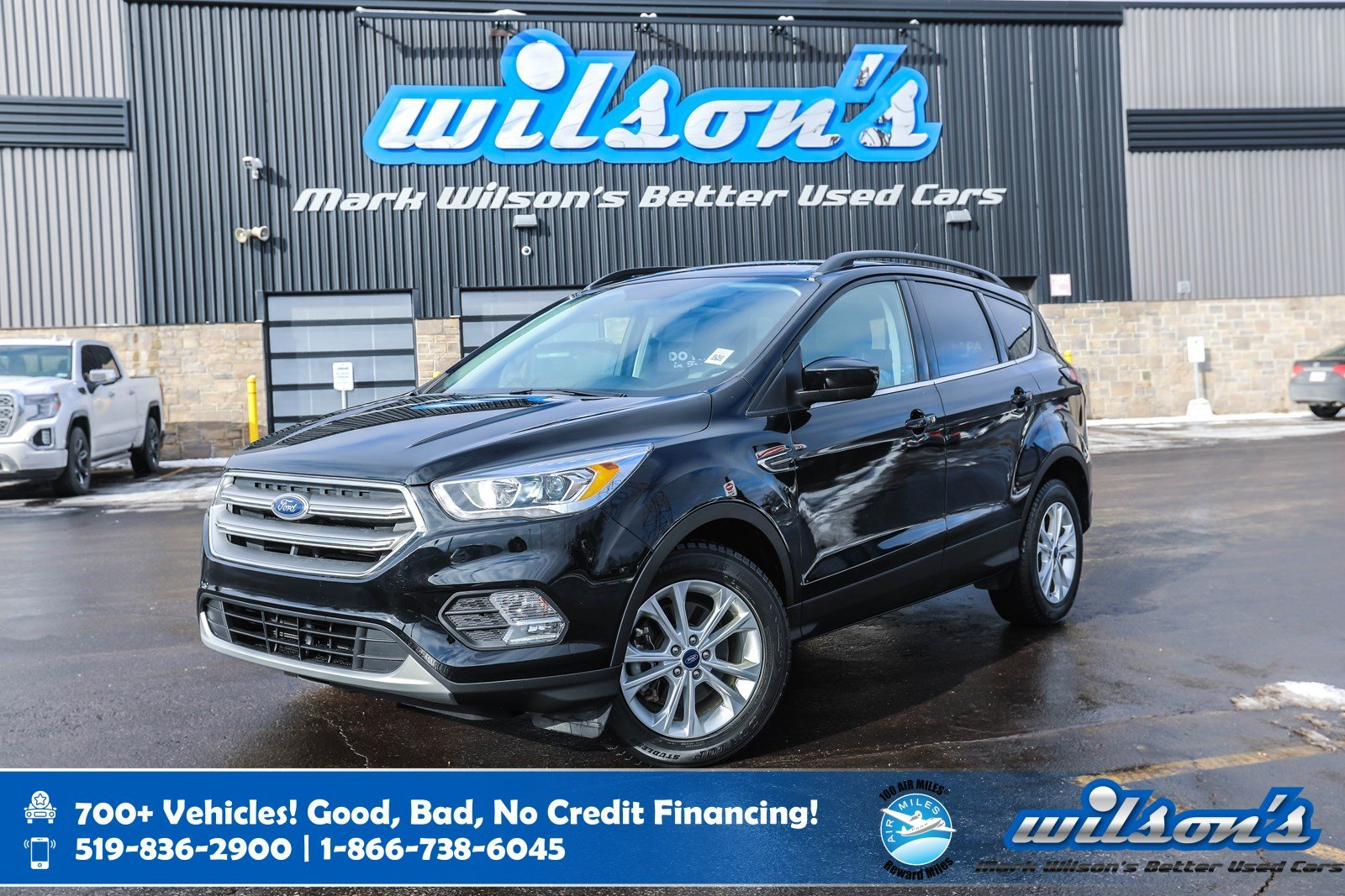 Certified Pre-Owned 2017 Ford Escape SE 4WD, Navigation, Rear Camera + Sensors, Heated + Power Seats, Bluetooth, Alloys and more!