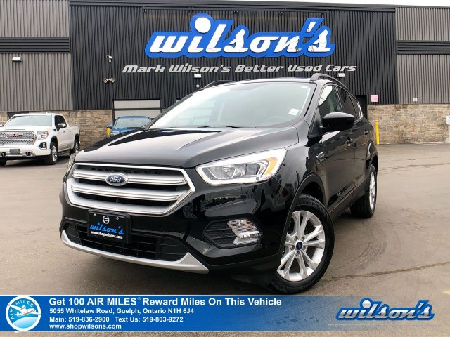 Certified Pre-Owned 2018 Ford Escape SEL 4WD - Leather, Navigation, Sunroof, Rear Camera, Bluetooth, Heated + Power Seats, Power Liftgate