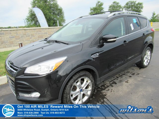 Certified Pre-Owned 2015 Ford Escape Titanium 4X4 - NEW TIRES! Leather, Navigation, Rear Camera, Bluetooth, Heated+Memory Seats and more!