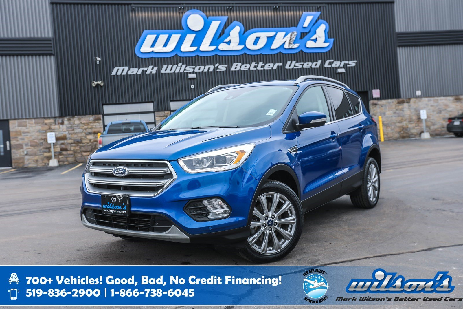 Certified Pre-Owned 2017 Ford Escape Titanium 4WD, Leather, Navigation, Sunroof, Heated Seats, Rear Camera, Remote Start and more!