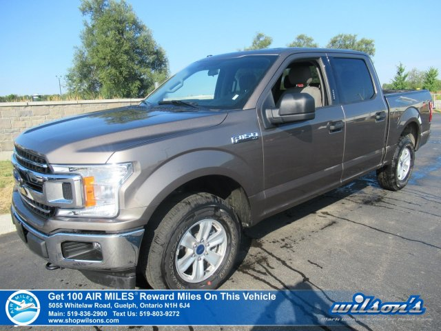 Certified Pre-Owned 2018 Ford F-150 XLT Crew Cab 4x4 2.7L - Power Seat, Rear Camera, Bluetooth, Alloys and more!