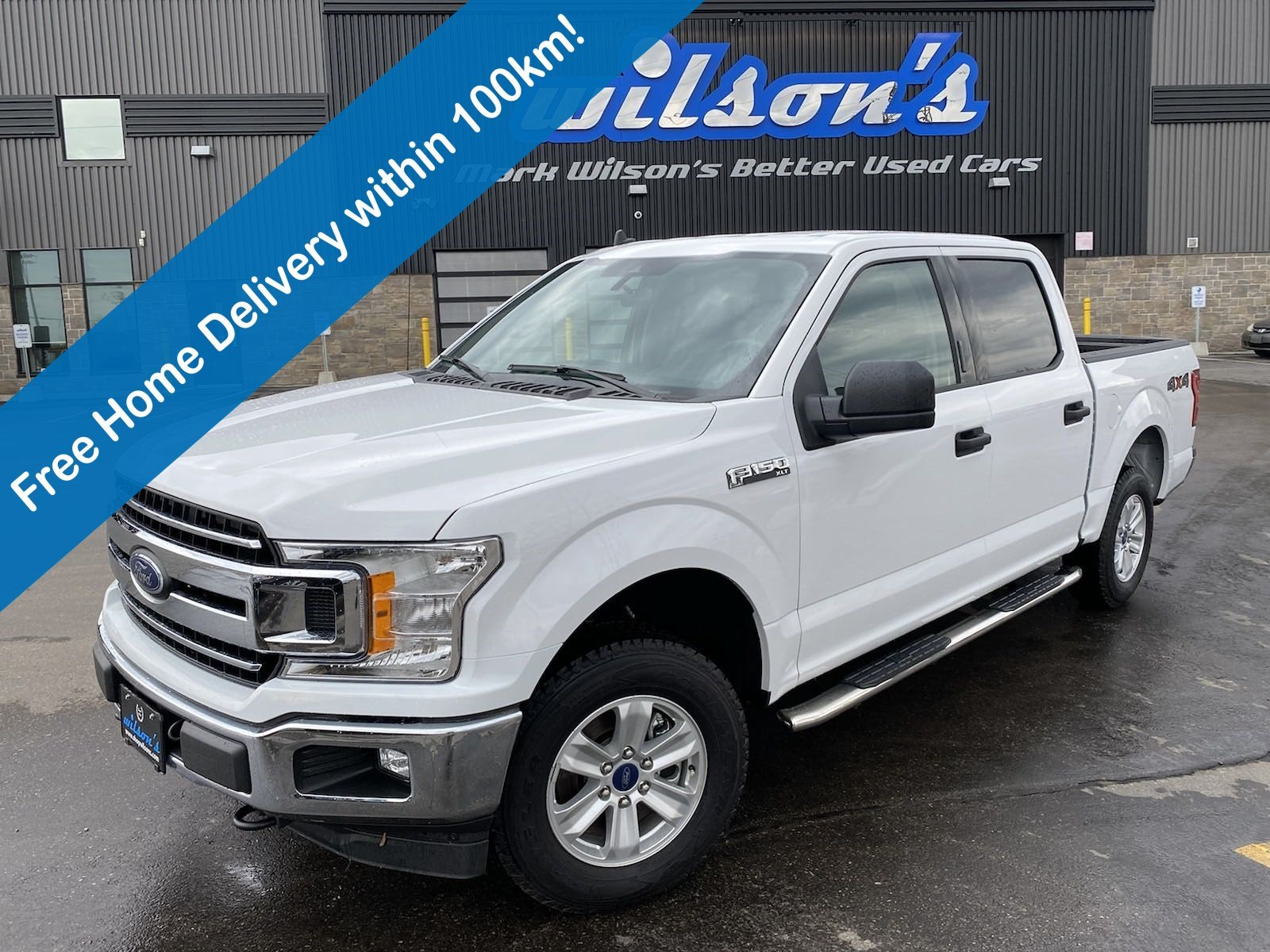 Certified Pre-Owned 2019 Ford F-150 XLT CREW, Tow Package, Sidebars, Power Seat, Pro Trailer Backup Assist and more!
