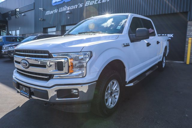 Certified Pre Owned 2018 Ford F 150 Xlt Crew Cab 4x4 5 0l V8
