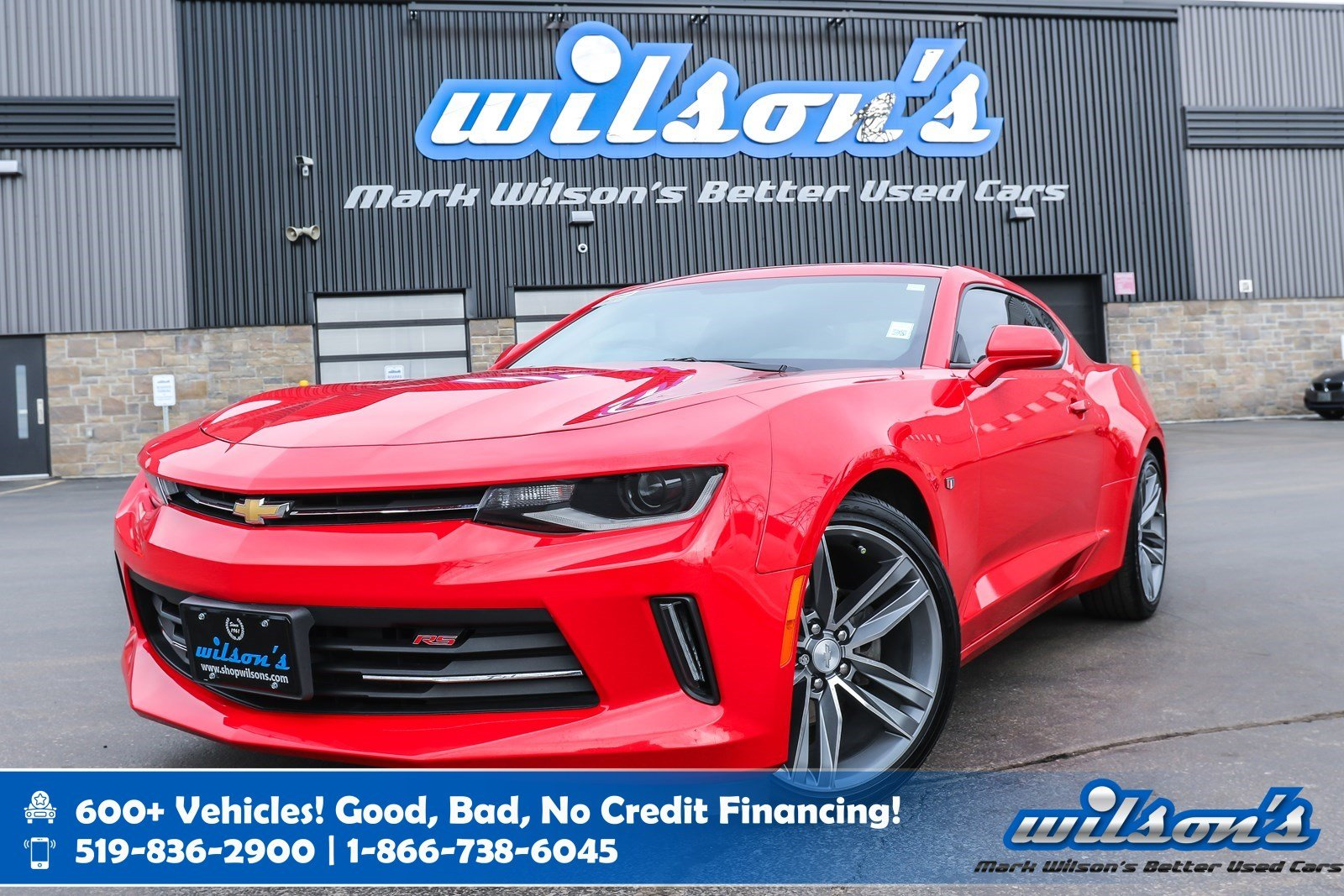 Certified Pre-Owned 2016 Chevrolet Camaro LT W/ 1LT, 6 Speed! RS Pkg, Sunroof, Rear Camera, Bluetooth, 20