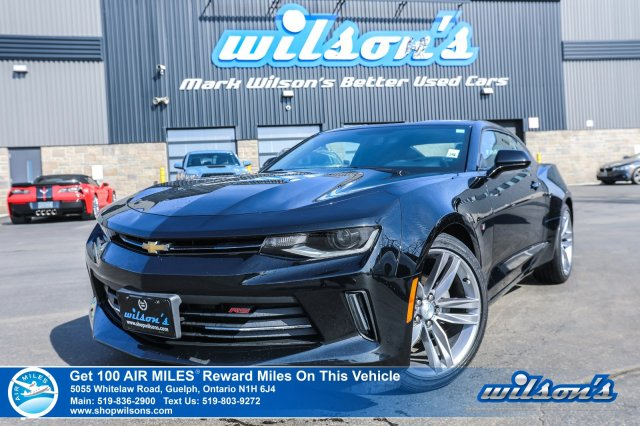 Certified Pre-Owned 2017 Chevrolet Camaro LT - RS Package, Remote Start, Bluetooth, Rear Camera, Teen Driver Mode, 20