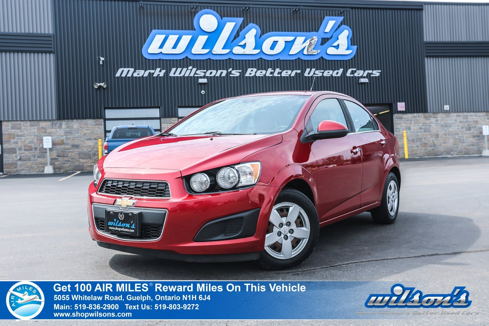 Certified Pre-Owned 2012 Chevrolet Sonic LT Used - VALUE PRICE! Manual, Bluetooth, Cruise Control, Power Package and more!