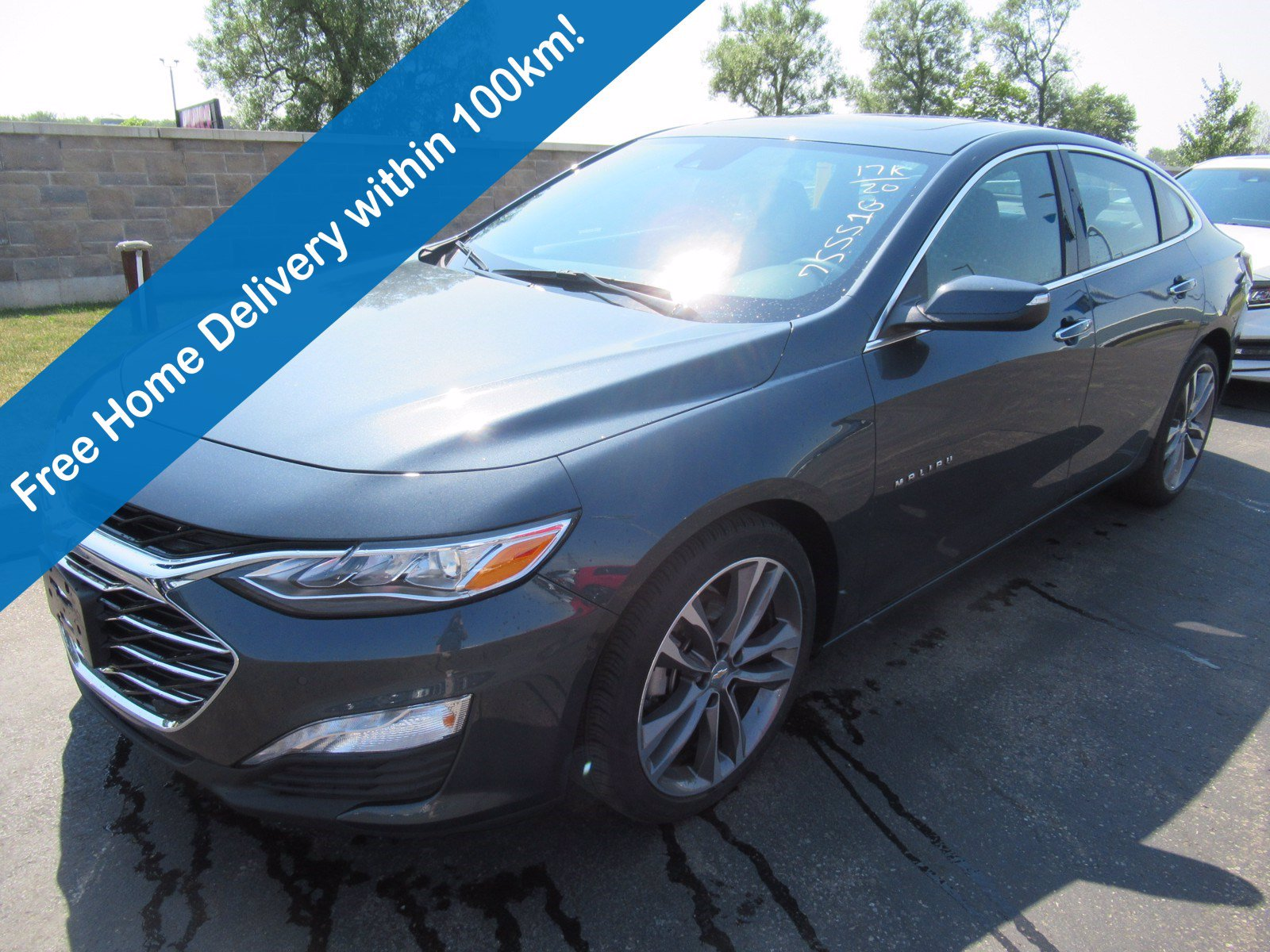 Certified Pre-Owned 2020 Chevrolet Malibu Premier, Leather, Sunroof, Heated Steering & Seats, Blindspot Monitor, Remote Start & Much More!