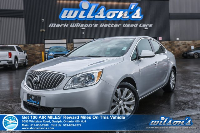 Certified Pre-Owned 2015 Buick Verano New Tires! Cruise Control, Power Group, Alloy Wheels and more!