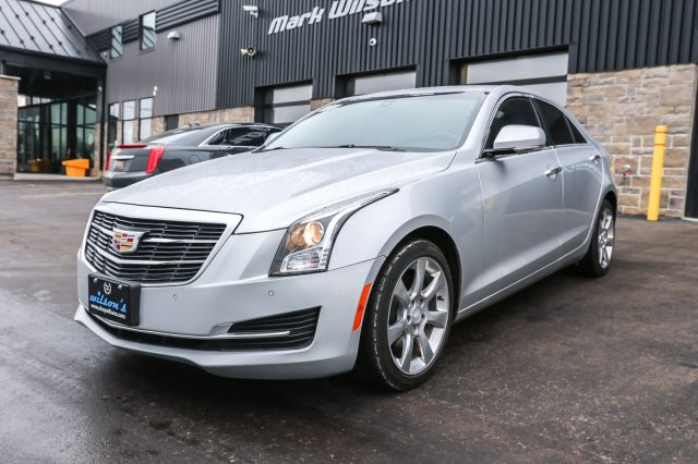 Certified Pre Owned 2015 Cadillac Ats Luxury Awd Leather Rear Camera Cruise Control Bluetooth Power Package Alloys