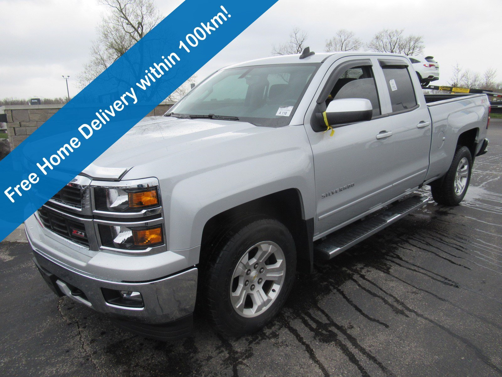 Certified Pre-Owned 2015 Chevrolet Silverado 1500 LT 5.3 V8 4WD Z71 True North Edition, Power Seat, Trailer Package, EZ Lift Tailgate and more!