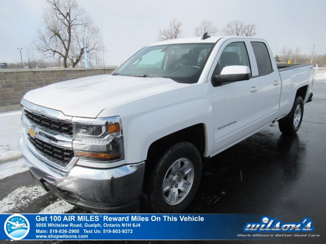 Certified Pre-Owned 2018 Chevrolet Silverado 1500 LT Double Cab 4x4 - Rear Camera, Bluetooth, Tow Package, Teen Driver Mode, & Lots More!