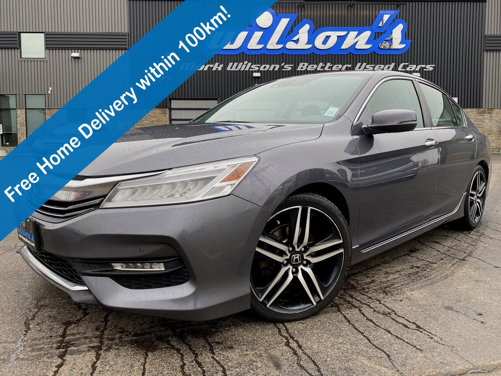 Certified Pre-Owned 2017 Honda Accord Touring, Leather, Navigation, Sunroof, New Tires, Heated Seats, Rear Camera, Parking Sensors & more!