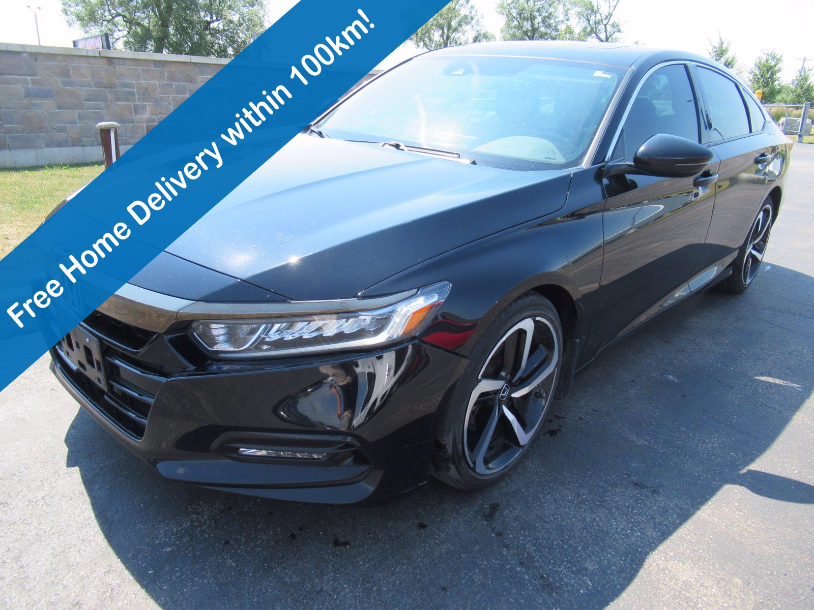 Certified Pre-Owned 2018 Honda Accord Sedan Sport, Leather, Sunroof, Bluetooth, Cruise Control, 19