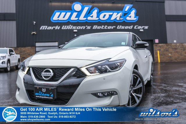 Certified Pre-Owned 2018 Nissan Maxima SV - Leather, Navigation, Heated Seats, Power Seat, Bluetooth, Rear Camera