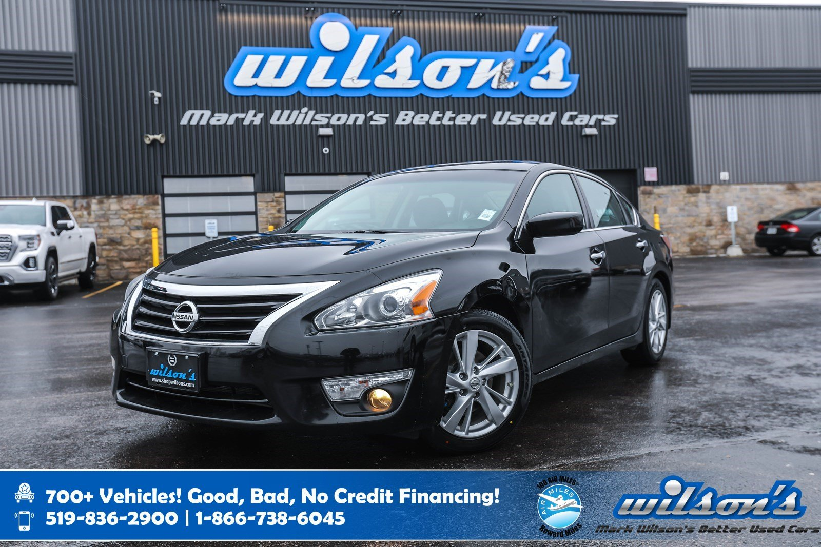 Certified Pre-Owned 2015 Nissan Altima 2.5 SV, Sunroof, Power Seat, New Tires, Heated Seats, Bluetooth, Rear Camera, Remote Start and more!