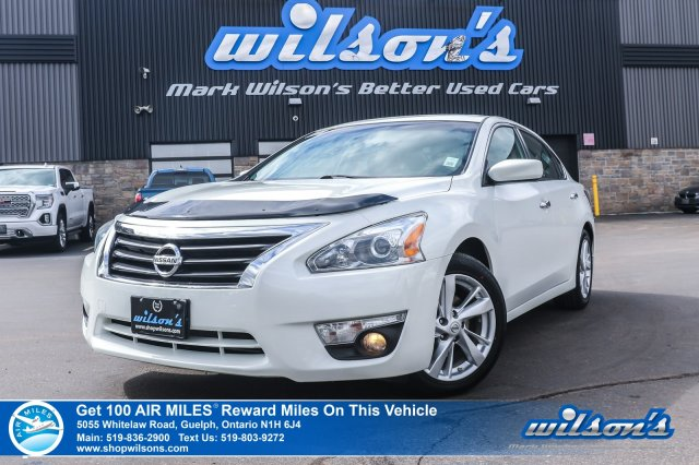 Certified Pre-Owned 2014 Nissan Altima 2.5 SV - NEW TIRES! Sunroof, Bluetooth, Rear Camera, Remote Start & Much Much More!