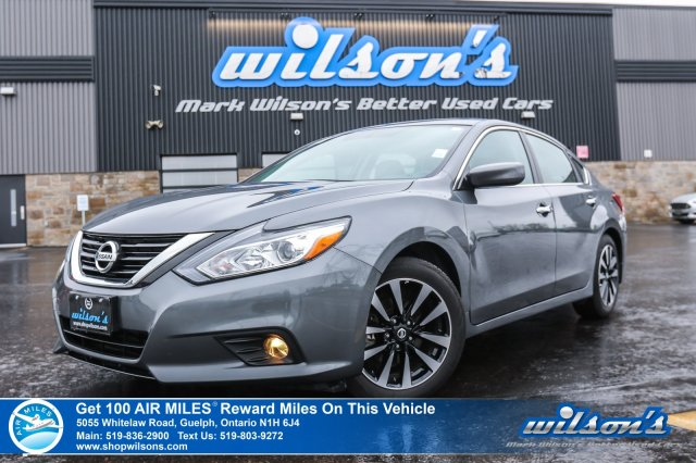 Superior Certified Pre Owned 2018 Nissan Altima 2.5 SV | SUNROOF | HEATED SEATS +  STEERING