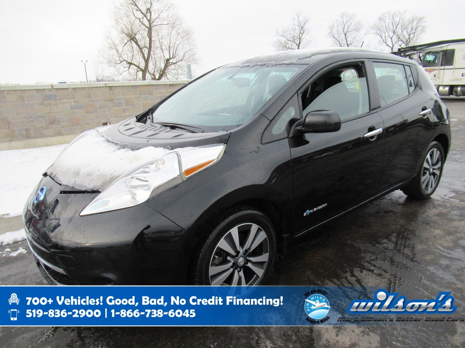 Certified Pre-Owned 2016 Nissan LEAF SV, Navigation, New Tires, Heated Steering + Seats, 7