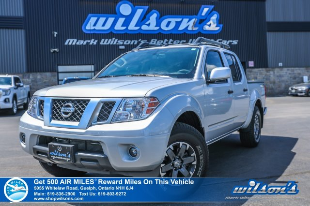 Certified Pre-Owned 2019 Nissan Frontier PRO-4X Crew 4x4 - Leather, Navigation, Sunroof, Rear Camera, Rockford Fosgate Sound, Heated Seats