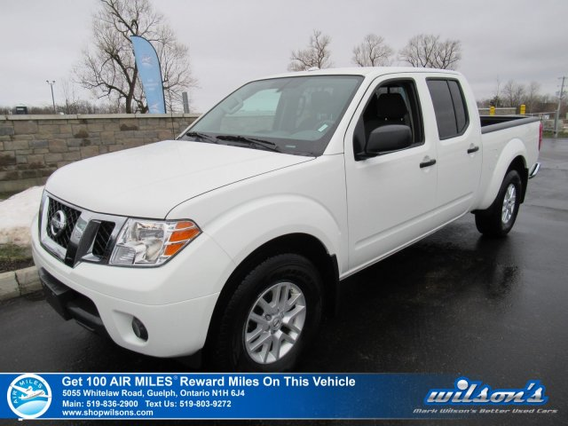 Certified Pre-Owned 2018 Nissan Frontier SV 4x4 Crew - Bluetooth, Rear Camera, Keyless Entry, Steering Radio Controls, Cruise Control & More!