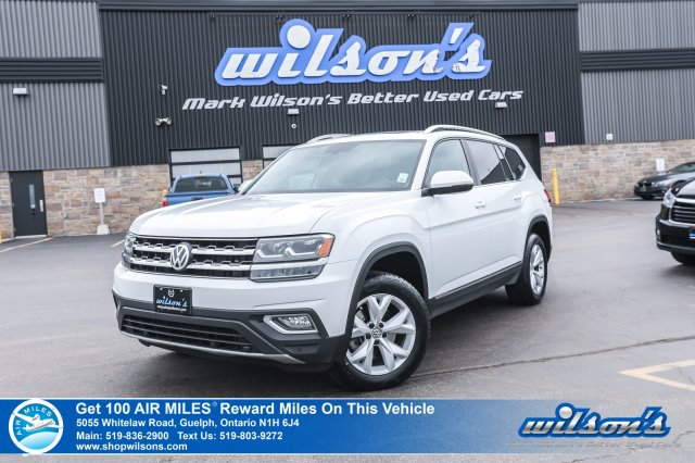 Certified Pre-Owned 2018 Volkswagen Atlas Highline AWD - Leather, Navigation, Sunroof, Power Liftgate, Blind Spot Detection and more!