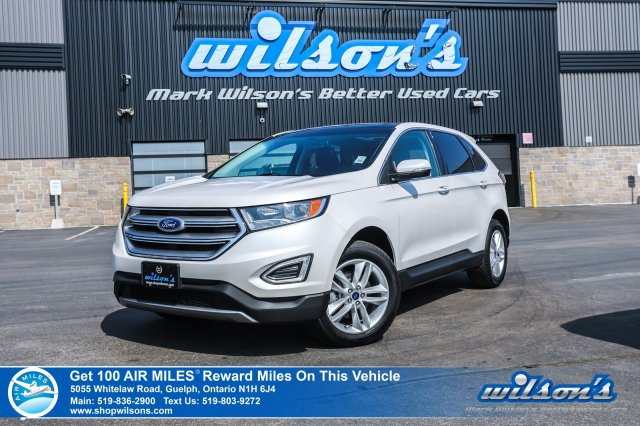 Certified Pre-Owned 2016 Ford Edge SEL V6 - Leather, Navigation, Sunroof, Bluetooth, Cruise Control, Alloys and more!