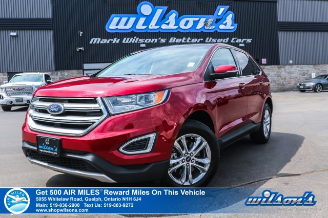 Certified Pre Owned 2018 Ford Edge Sel Awd Leather Navigation Sunroof Remote Start Heated Seats Rear Camera Bluetooth More