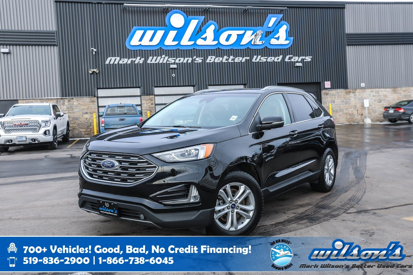 Certified Pre-Owned 2019 Ford Edge SEL AWD, Leather, Navigation, Heated Steering + Seats, Apple CarPlay + Android Auto and more!