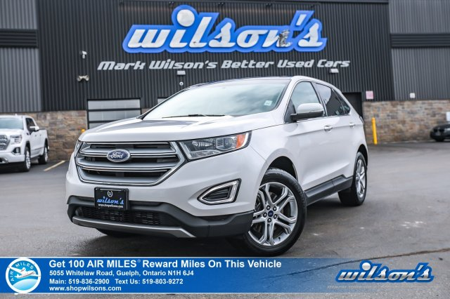 Certified Pre-Owned 2016 Ford Edge Titanium AWD - Leather, Navigation, Sunroof, Heated Seats, Power Seat, Rear Camera and more