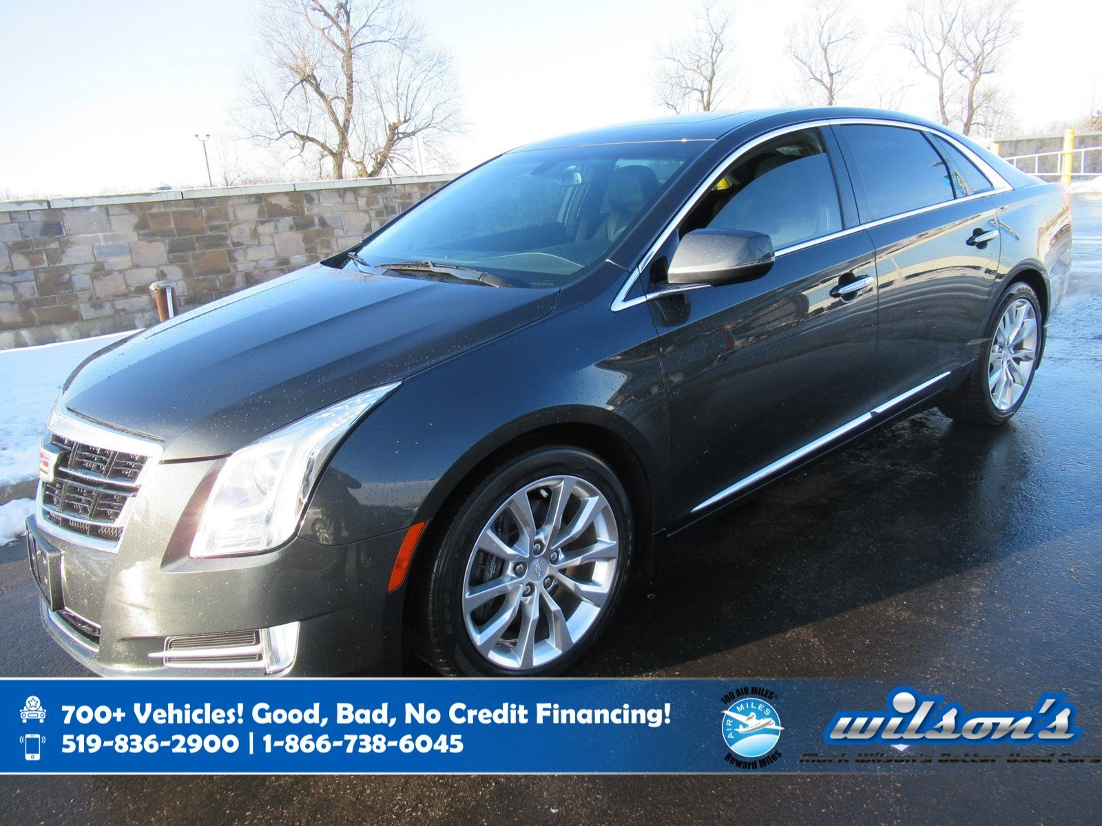Certified Pre-Owned 2016 Cadillac XTS Luxury Collection AWD, Leather, Sunroof, Navigation, Heated Steering, Parking Sensors and more!