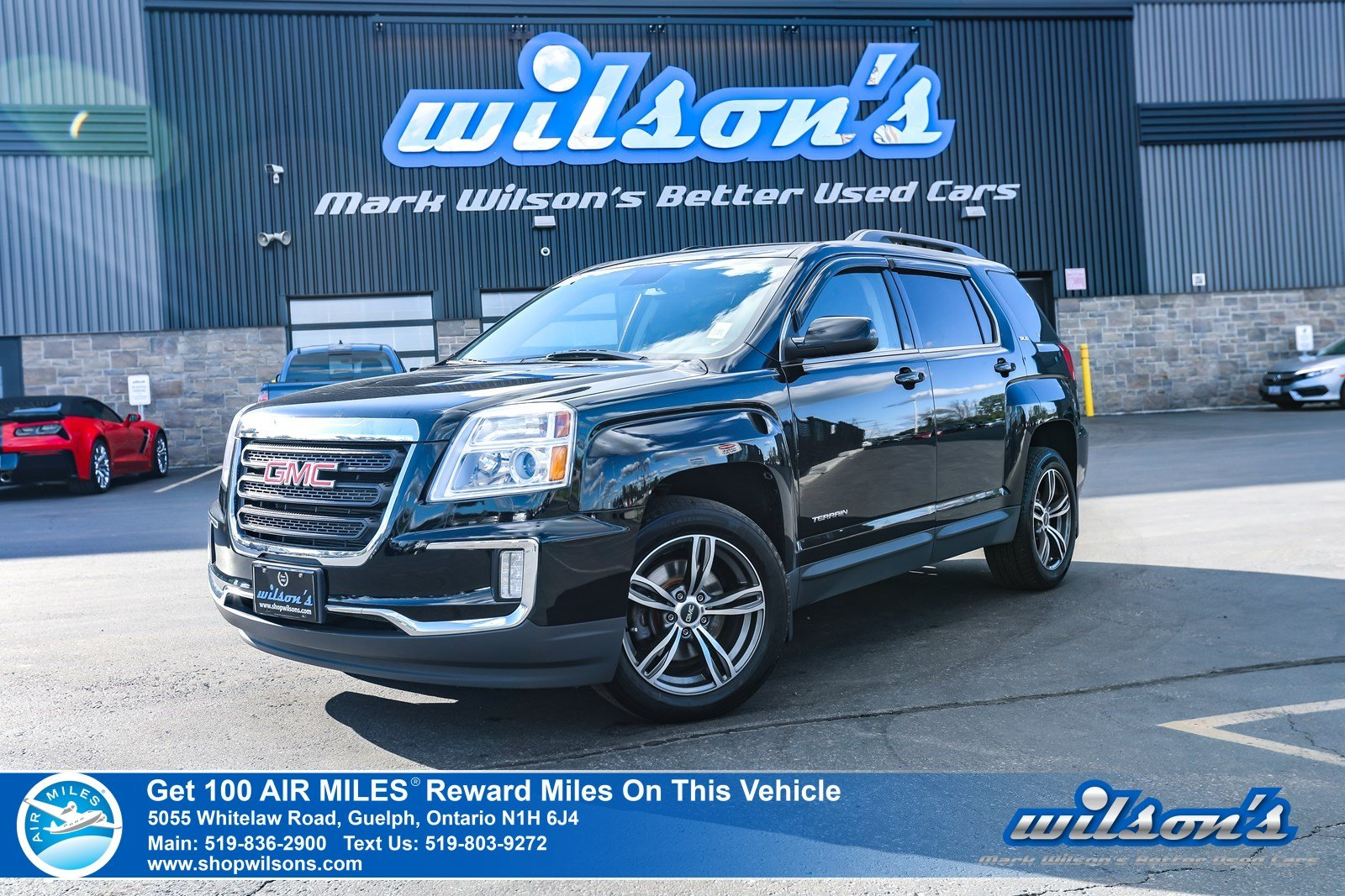 Certified Pre-Owned 2017 GMC Terrain SLE W/ SLE2 - Rear Camera, Bluetooth, Remote Start, Heated + Power Seats, Pioneer Audio and more!