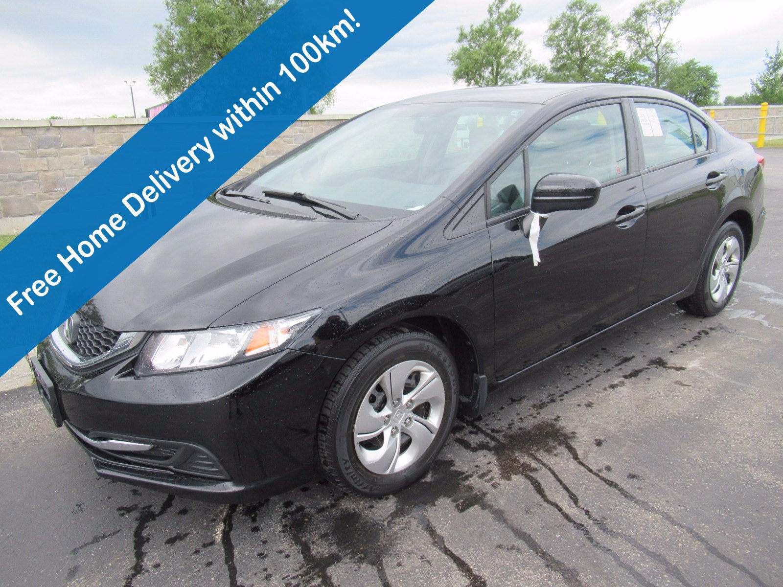 Certified Pre-Owned 2015 Honda Civic LX, Bluetooth, Heated Seats, Cruise Control, Power Package, A/C and more!