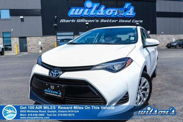 Certified Pre-Owned 2019 Toyota Corolla LE, Heated Seats, Toyota Safety Sense, Bluetooth, Rear Camera and more!
