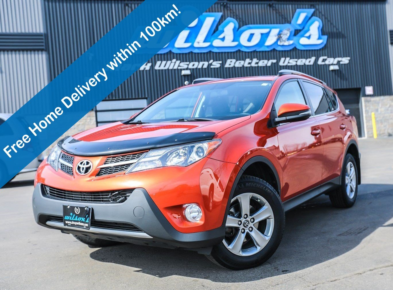 Certified Pre-Owned 2015 Toyota RAV4 XLE AWD, Sunroof, Heated Seats, Rear Camera, Bluetooth, Alloy Wheels and more!