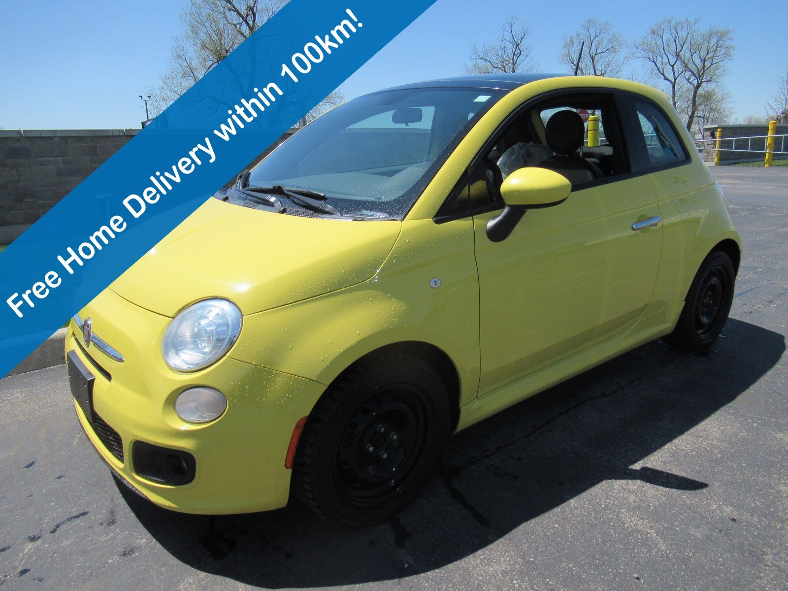Certified Pre-Owned 2014 FIAT 500 Sport Hatchback, Sunroof, Leather Trim, Heated Seats, Power Package & More!