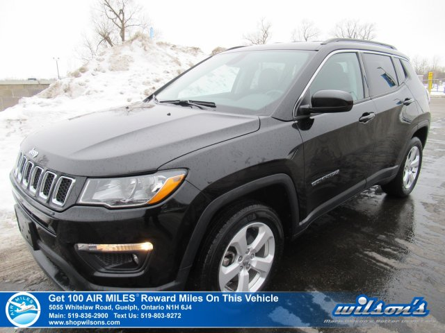 certified pre-owned 2018 jeep compass north 4x4 - bluetooth
