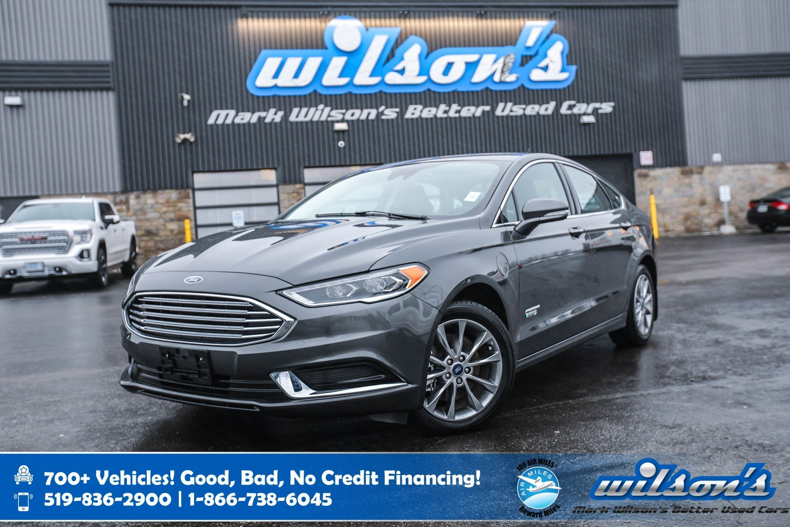 Certified Pre-Owned 2018 Ford Fusion Energi SE Luxury, Leather, Navigation, Heated Steering + Seats, Remote Start and more!