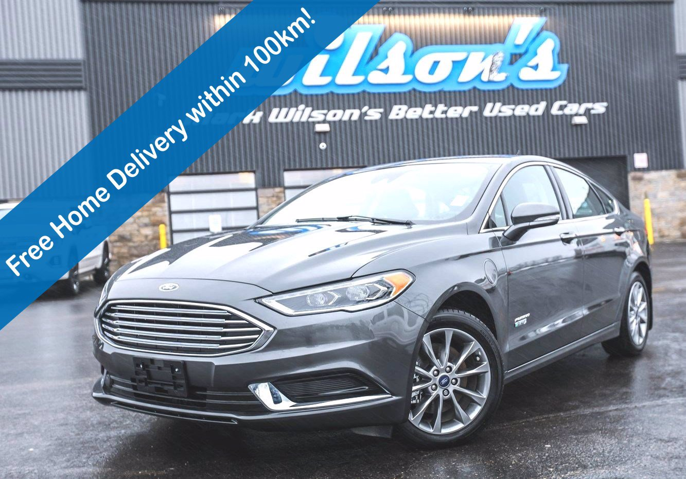 Certified Pre-Owned 2018 Ford Fusion Energi SE Luxury, Only 7000km! Leather, Navigation, Heated Steering + Seats, Remote Start and more!